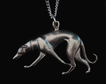 Greyhound Whippet Galgo A Touch of Class Necklace