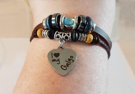 Galgo Love Jewelry Spanish Greyhound Galgo Necklace