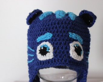 Cat Boy (PJ Masks) inspired Crochet Hat 57bb01eb55a