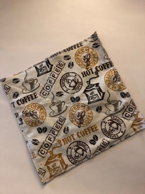 """Kitchen Cloth Wipes Unpaper Towels /""""Sweet Home Sunflower/"""" Reusable Paper Towels"""