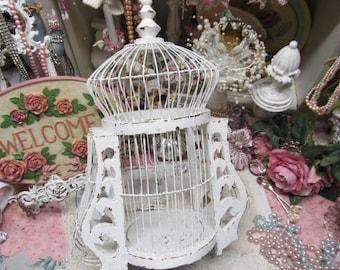 shabby chic birdcage etsy rh etsy com Shabby Chic Birds shabby chic birdcage wallpaper
