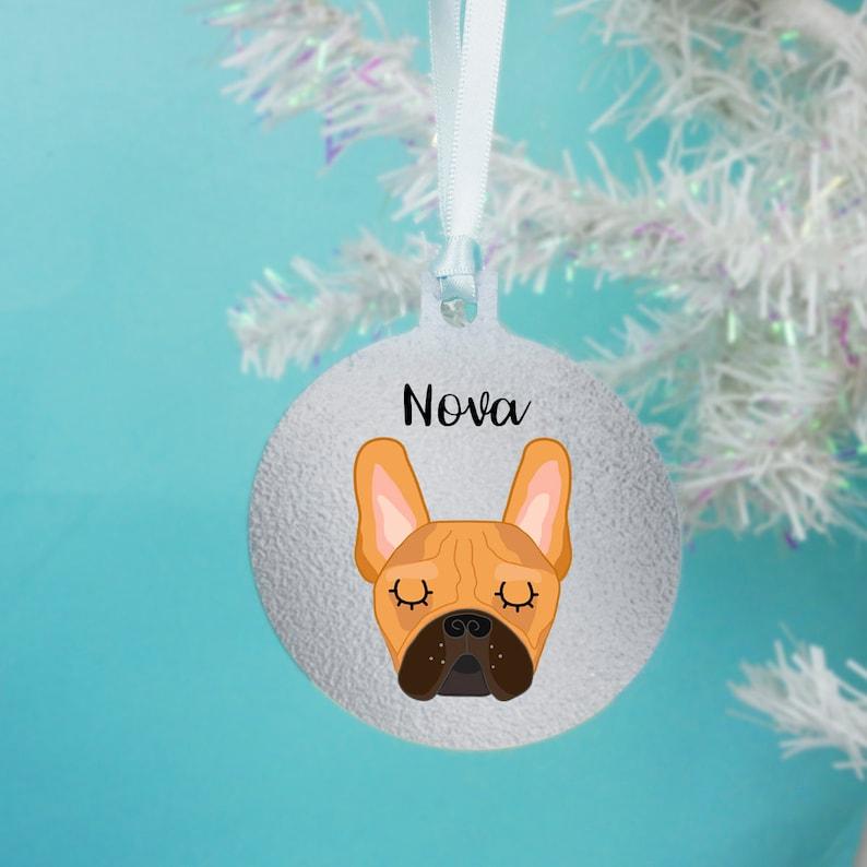 French Bulldog//Frenchie Stone Ornament Metallic Copper Finish Free UK P/&P