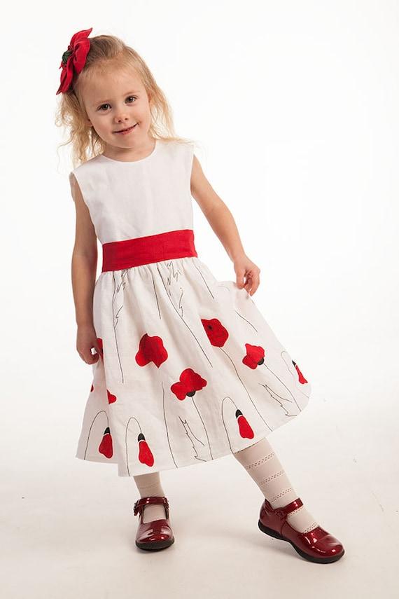 Valentine's Day Flower Girl Dress