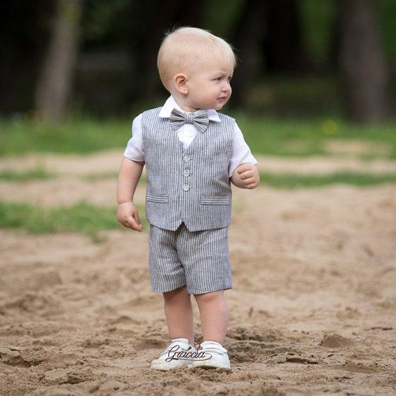 Baby Tuxedo baby tuxedo shirt -Newborn Photo Outfit Boy Baby Tuxedo Shirt Baby boy Tuxedo Photography prop Baby Wedding outfit