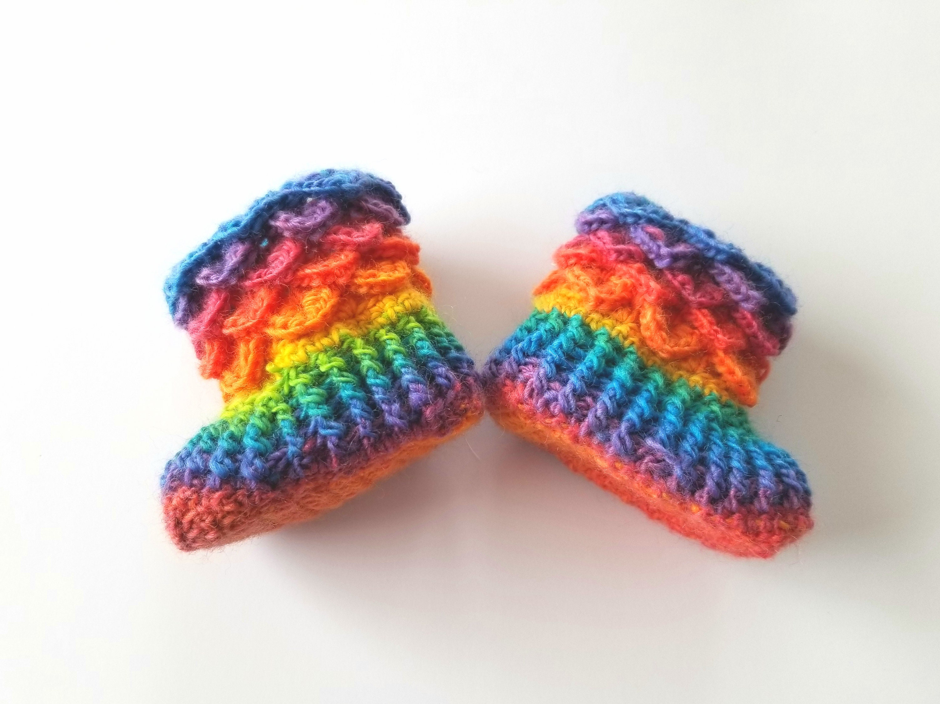 Crochet Baby Booties For Sale Loafers 0 6 Month Or 6 12 Etsy