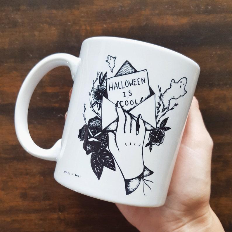Handmade Sydney Tokarsky Halloween is Cool Coffee image 0