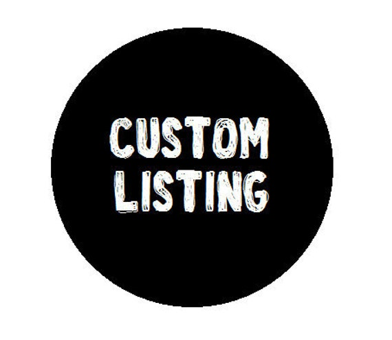 CUSTOM LISTING for Casey Jacketta