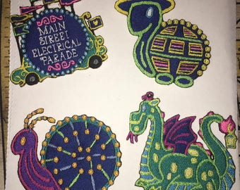 Iron On Patch Disney Inspired Fan Art Main Street Electrical Parade Float