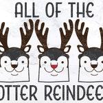 Christmas SVG - Reindeer SVG - Pun SVG - Funny Svg - Otter Svg - Funny Tshirt Svg - Cricut Svg Files - Silhouette Svg - Instant Download