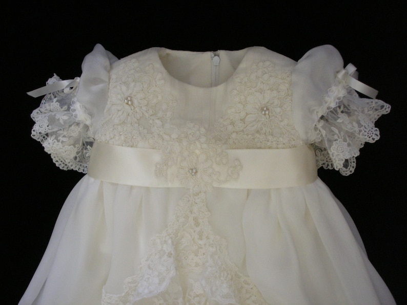 Daniella/'s Custom Christening or Baptism Gown made to order from your Wedding Dress