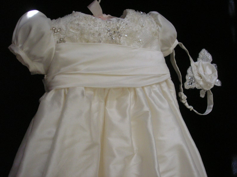 Mel/'s Custom Christening or Baptism Gown made to order from your Wedding Dress