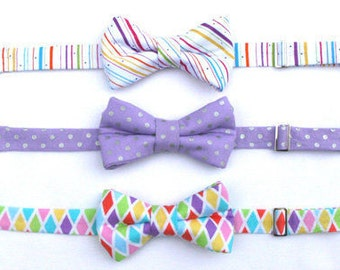 Boys Formal Wear Bow Tie, Toddler Bow Tie, Boys Easter Bow Tie, Page Boy Outfit, Baby Boy Easter Bow Tie, Family Photo Outfit, Boy Bow Tie