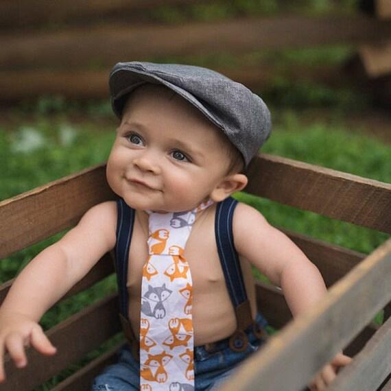 Hugo Boys Newsboy Hat Newborn Photo Prop Boys Cap Ring  f9b1a046650