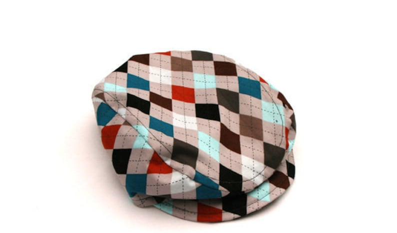 Boys Argyle Newsboy Hat Newborn Photo Prop Driving Cap Baby  5f4573aacc6