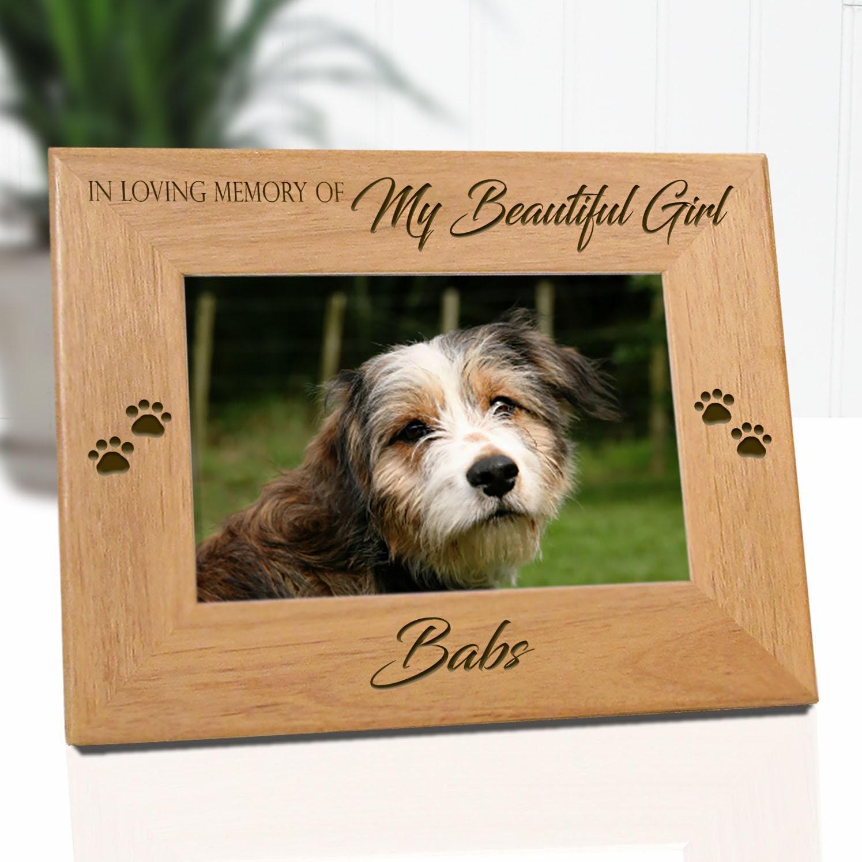 Pet Memorial FrameDog Memorial Frame Dog Picture Frames Pet | Etsy
