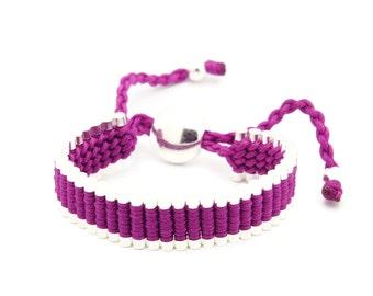 Link Friendship Bracelet - Purple Color - (One Direction)