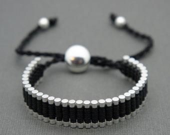 Link Friendship Bracelet - Black (One Direction)