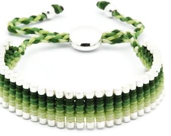 Link Friendship Bracelet - Green - (One Direction)