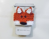 Fox Coffee Cozy, Crochet ...