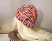 Merino Wool Beanie, Red, ...