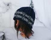 White Buffalo Wool Beanie...