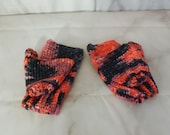 Fingerless Gloves, Merino...