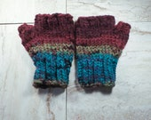 Fingerless Gloves, Multic...