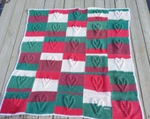 Crochet Heart Blanket, Re...