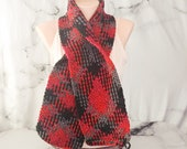 Red Buffalo Plaid Scarf, ...