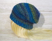 Easy Slouchy Hat Crochet ...