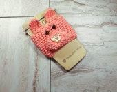 Pig Cup Cozy Crochet Patt...