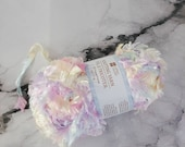 Pastel Pink Boa Yarn, Sof...