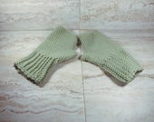 Merino Wool Fingerless Gl...