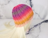 Multicolor Knitted Beanie...