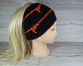 Spike Stitch Beanie Croch...