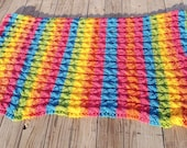 Rainbow Chunky Cable Afgh...