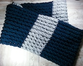 Cable Crochet Infinity Sc...