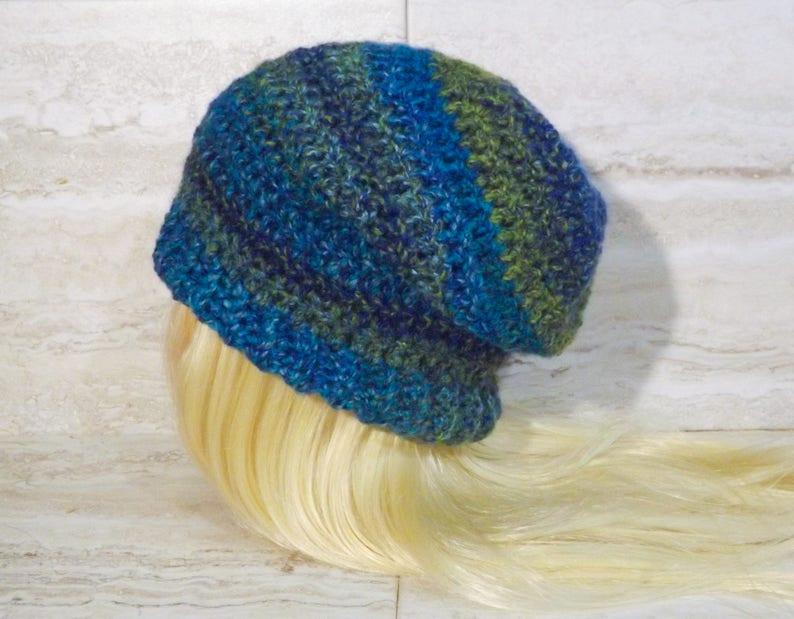 08b6e1ed042 Easy Slouchy Hat Crochet Pattern PDF Pattern Only Crochet