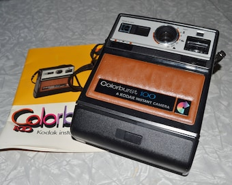 Kodak Colorburst Instant Camera ~ Vintage Photography ~ Epseam
