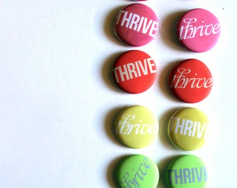 One Little Word - 12 Flair Badges, choose your own word