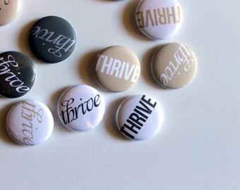 One Little Word - Flair, set of 12 custom badges