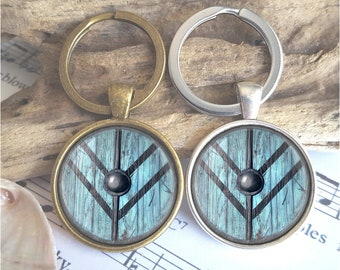 gift for dad Vikings inspired Shield Maiden pair of cufflinks Personalized Men Wedding Jewelry Lagertha Shield cuff links,Tie clip