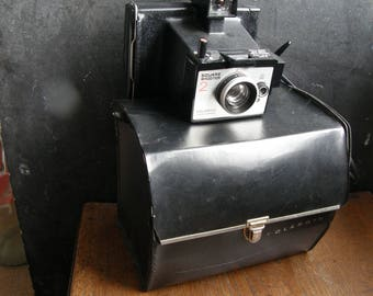 POLAROID LAND camera square shooter 2, camera with case, Free uk postage