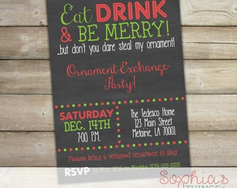 Funny Holiday Invite