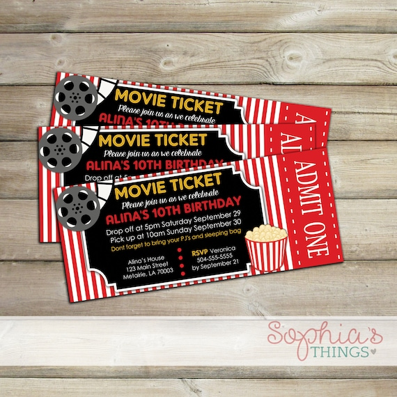 photograph about Printable Movie Ticket Invitation identified as Online video Ticket Invitation, Video Social gathering Invitation, Video Night time Invitation, Video clip Birthday, Online video Birthday Invitation, Video Ticket Invite
