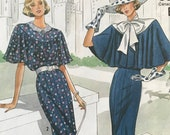 UNCUT Misses 39 Dress Sewing Pattern Simplicity 9360 Size 14-16-18-20 Downton Abby, Edwardian, Empire Waist, Theater, Historical