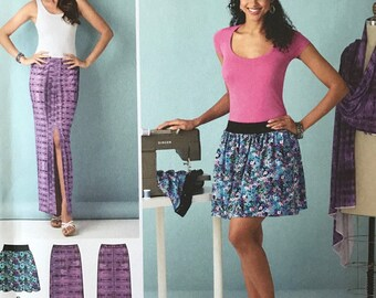 UNCUT Simplicity 1368 Skirt Sewing Pattern Size 6-8-10-12-14-16  Modest Skirt, Maxi Skirt, Beginners, Easy, Spring, Summer, Learn to Sew