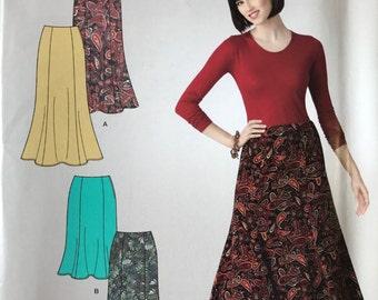 UNCUT Skirt Sewing Pattern Simplicity 2312 Easy Skirt, Maxi, Midi, Modest Skirt, Tulip Skirt Size 8-10-12-14-16-18