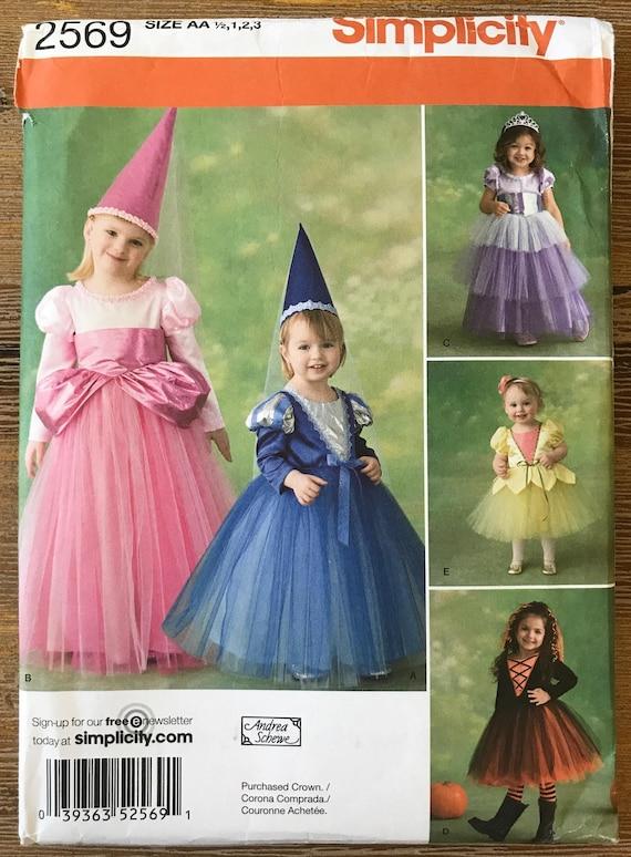 UNBESCHNITTENEN Kinder Mädchen Fee Prinzessin Königin Kostüm | Etsy