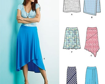 UNCUT Simplicity 1163 or 0685 Skirt Sewing Pattern Size 4-6-8-10-12-14-16-18-20-22 Maxi Skirt, Mini Skirt, Midi Skirt, Modest Skirt